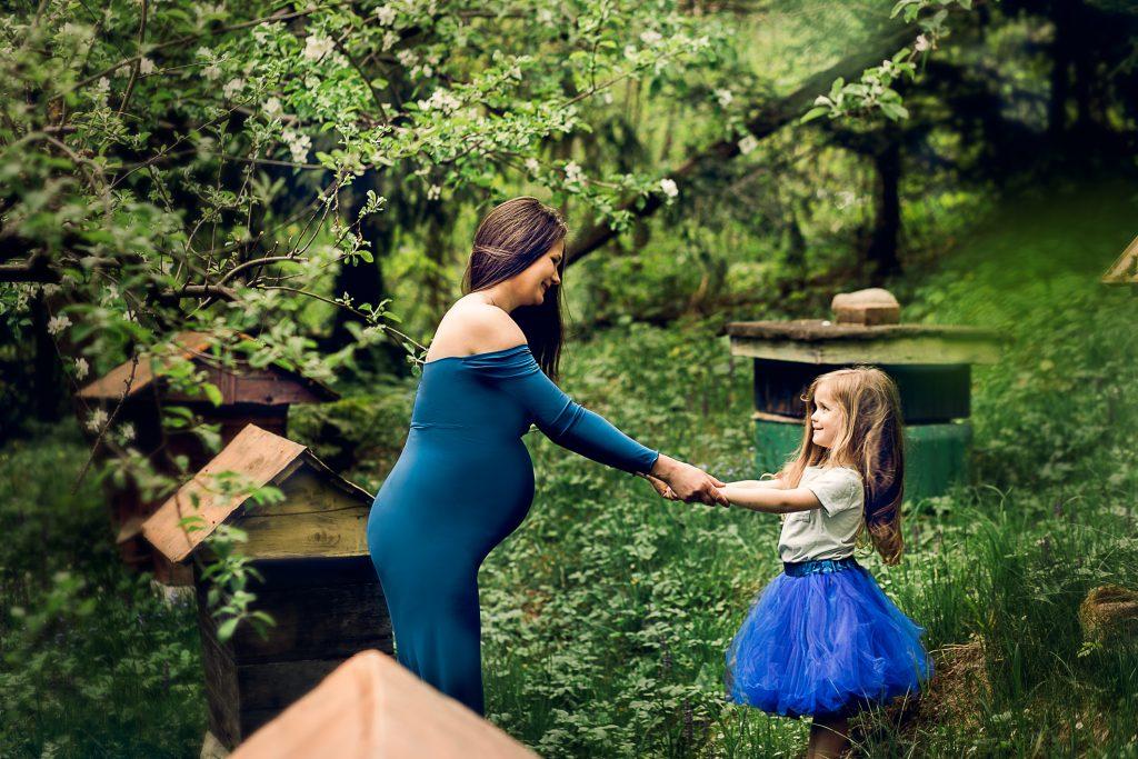 Fotograf Nowy Sącz sesja ciążowa